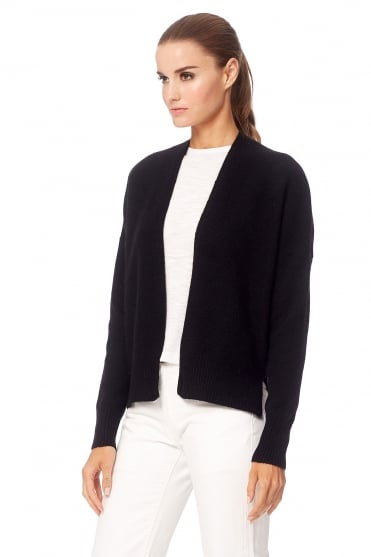 360 Cashmere Women's 35106 Florence Cream or Black Cardigan