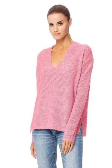 360 Cashmere Women's 35140 Mai Pink or Navy Jumper