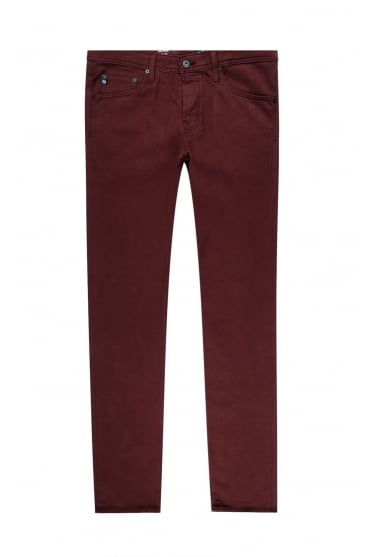 AG Men's 1783BES The Tellis Slim Red or Navy Jeans