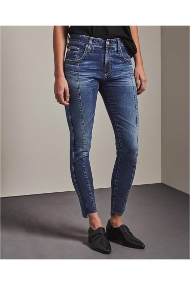 The Farrah Skinny Blue Ankle Jean EMP1777RO
