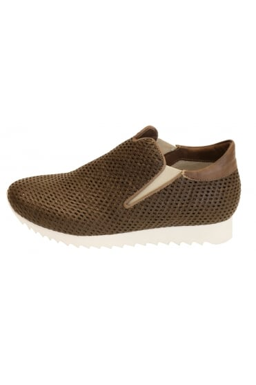 Andia Fora Men's Fit Brown Trainer