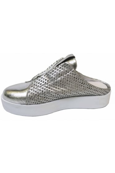 Andia Fora Women's Cindy Brown or Silver Trainer