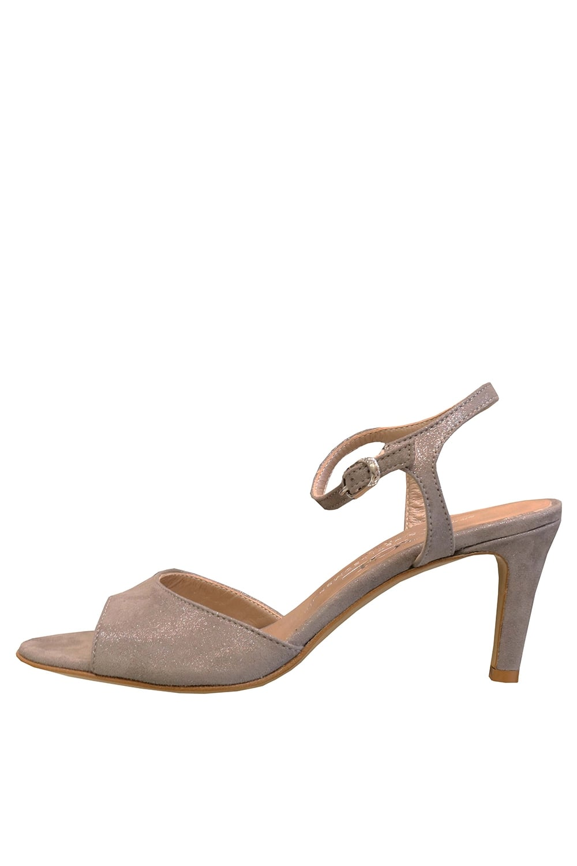 81a8c2a5cee ATTILIO GIUSTI LEOMBRUNI AGL Women s D636002 Mid Heeled Grey Sandals ...