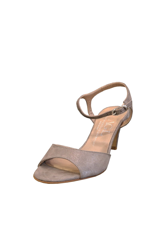 9bef2ba65e ATTILIO GIUSTI LEOMBRUNI AGL Women's D636002 Mid Heeled Grey Sandals ...