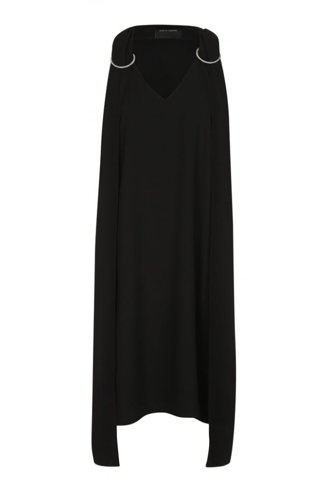 BIRGITTE HERSKIND Women's Fixie Black Dress