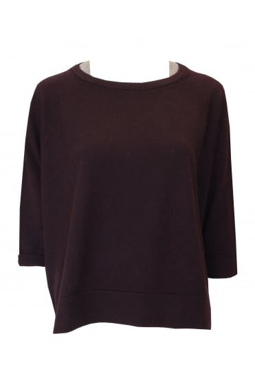 Burgundy Beaded Jumper 1500