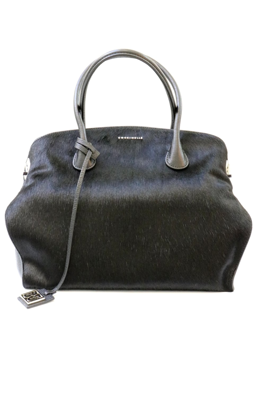 e86c268c40ee COCCINELLE Coccinelle Women s C1VB6-1801 Ponyskin Black Handbag ...