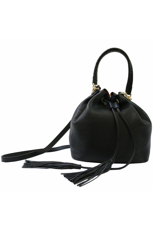 b13b8ba69663 COCCINELLE Coccinelle Women's G0 230101 Bucket Black Bag