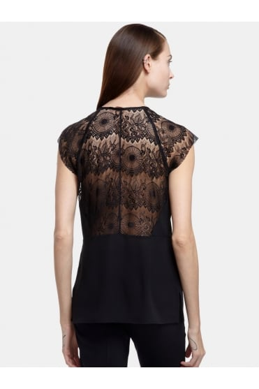 Sonia Lace Sleeve Top CEC1660