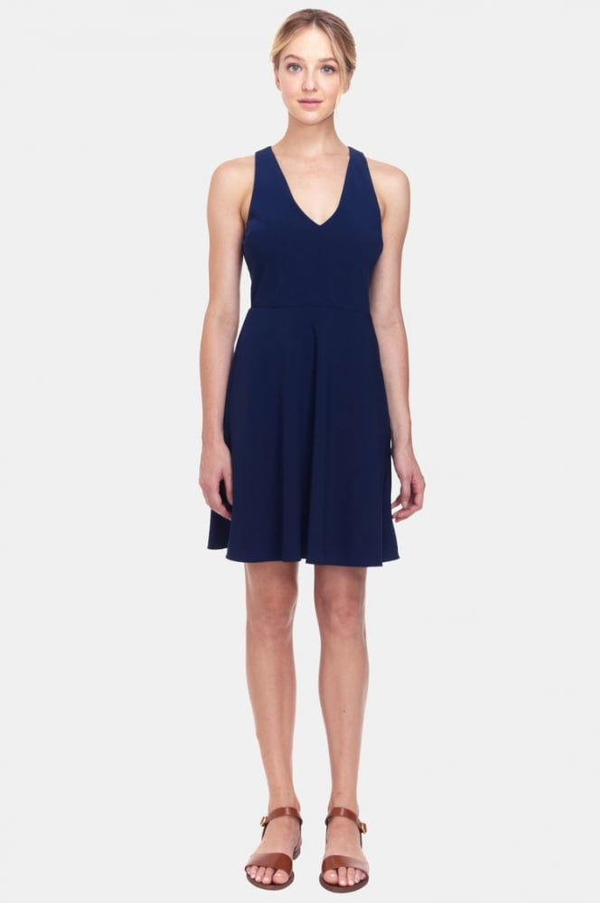 COOPER & ELLA Women's CEP1718 Rafaela Blue Dress