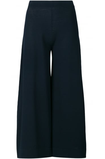 D.Exterior Women's 46082 Serica Cropped Navy Trousers