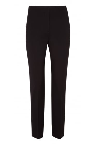 Emotional Essence Black Straight Trousers 948006