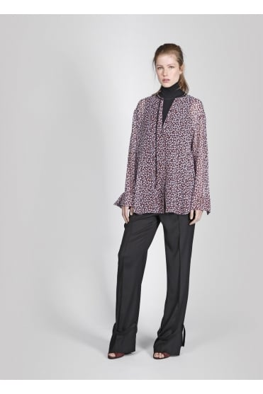 Leopard Bloom Blouse 549510