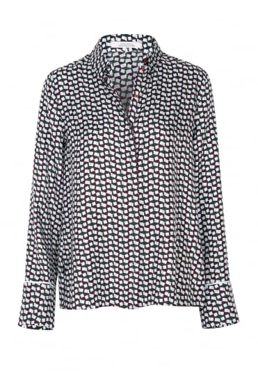 Moving Geometry Blouse 549802