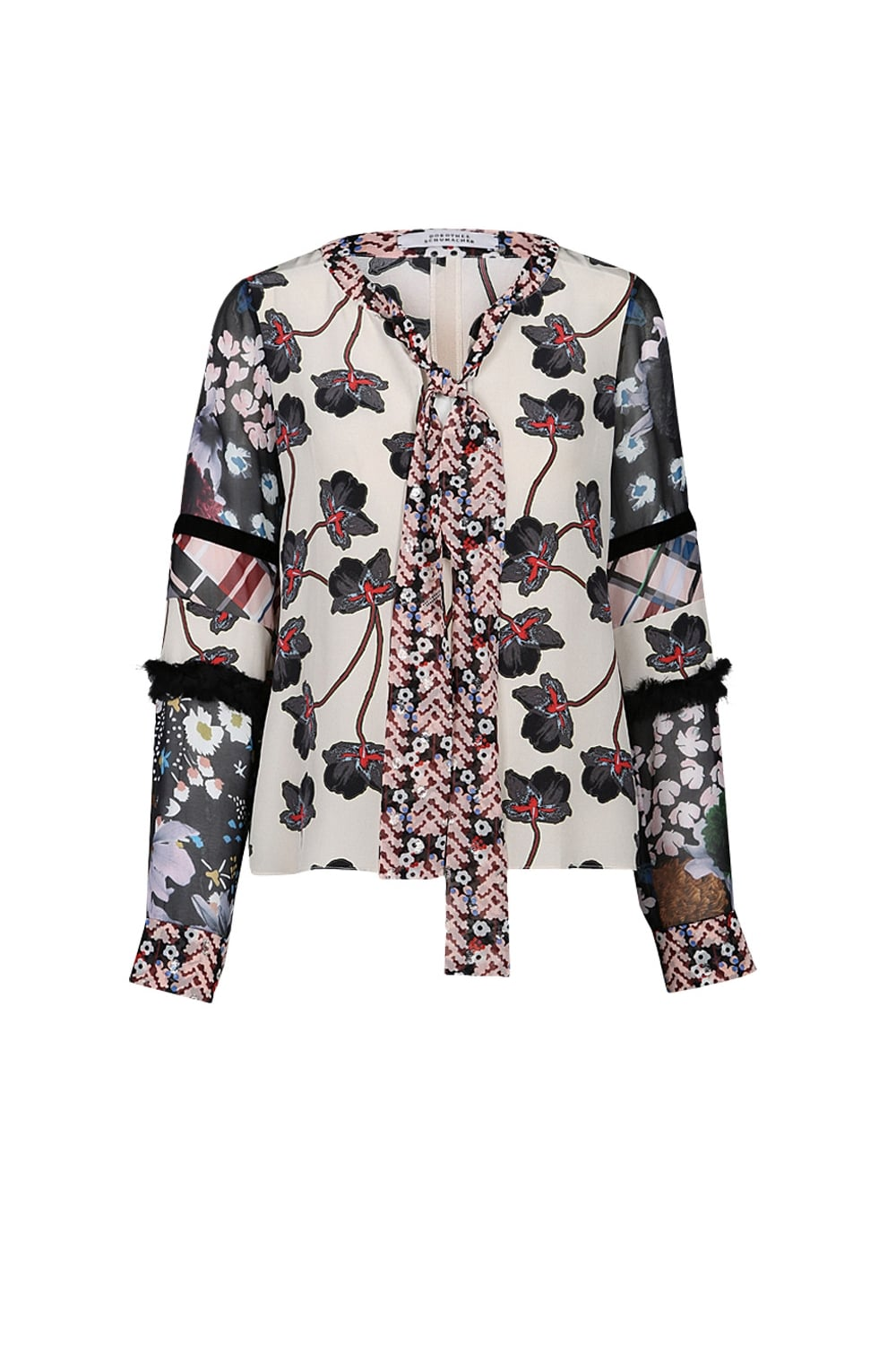 Dorothee Schumacher floral blouse Outlet Popular From China Free Shipping Low Price Free Shipping Pay With Paypal xzOJzTd