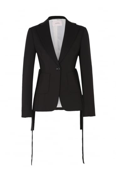 Dorothee Schumacher Women's 548101 Effortless Chic Black Blazer