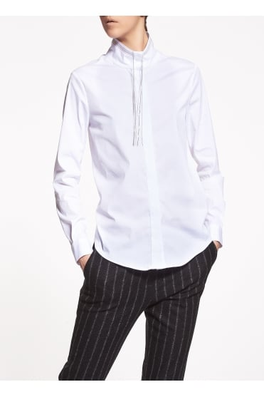 White Cotton Shirt CA95717
