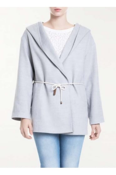 Woollen Hooded Parka Coat CT72217