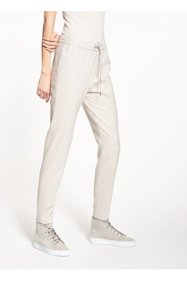 Woven Wool Straight Trousers PG82617