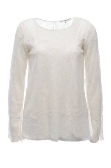 Falcoon & Bloom Women's FB179 Victorian White Top