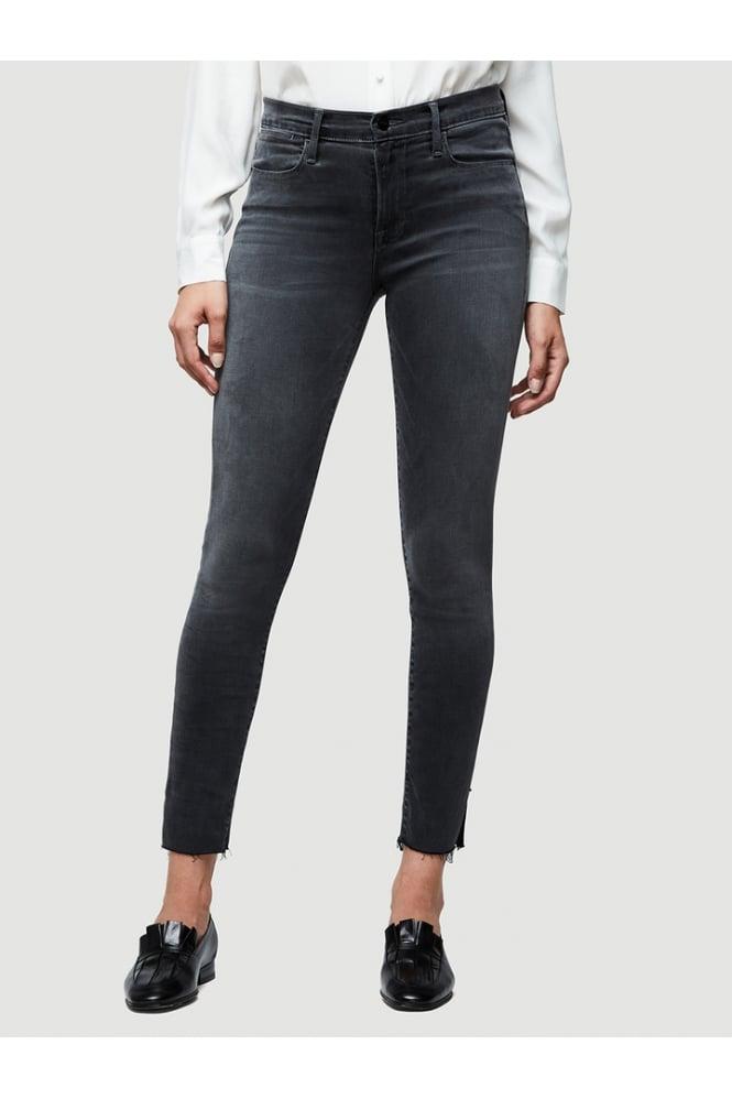 0da7ce54d541 FRAME Frame Women s LHSKREV208 Le High Skinny Jean Grey Jeans - WOMAN from  Piajeh UK