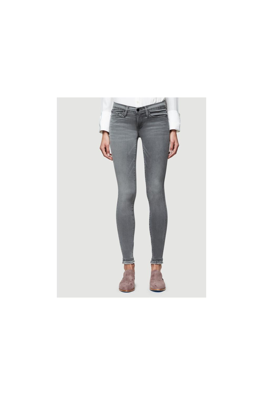 da32dd601f67 FRAME Frame Women s LSJDR208 Le Skinny De Jeanne Grey Jeans - WOMAN ...