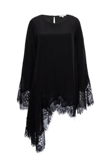 Emma Asymmetric Lace Top GH725