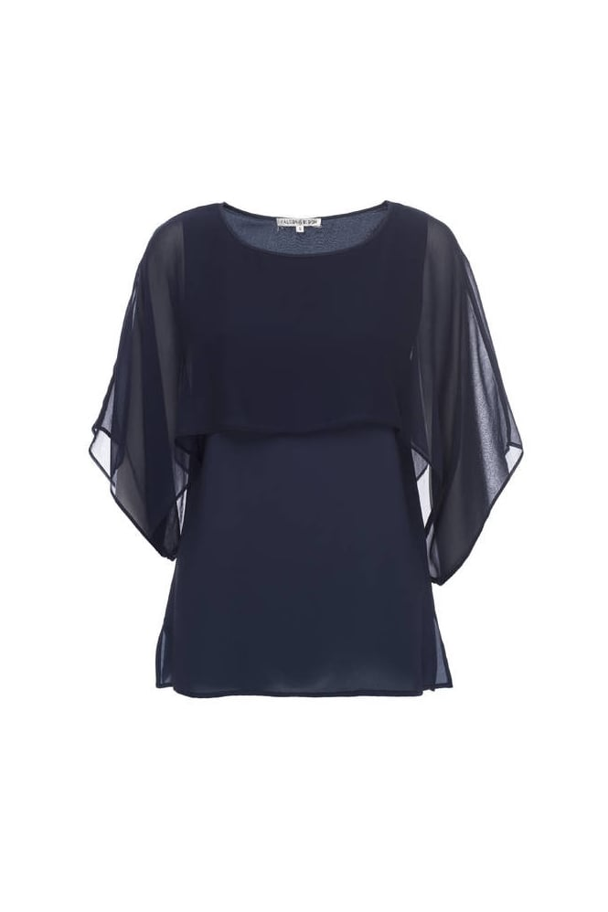 Goldhawk Sheer Overlay Top GH193