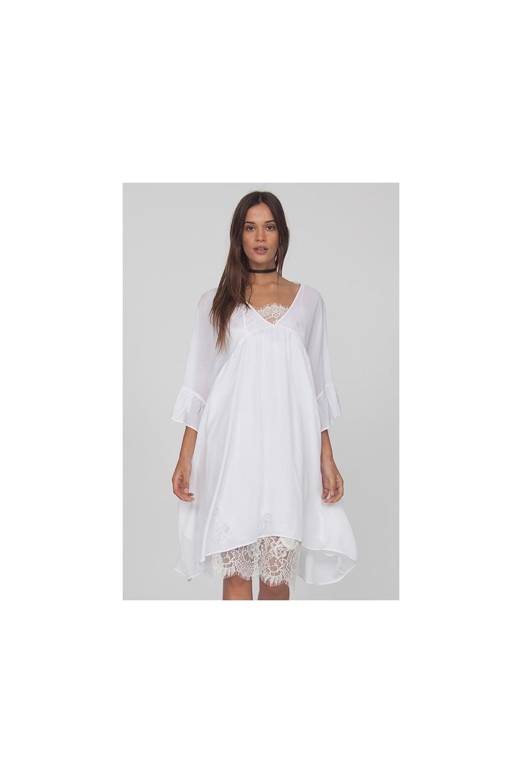 Silk Smocked Dress