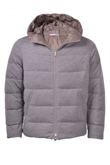 Grey Padded Reversible Coat 57101