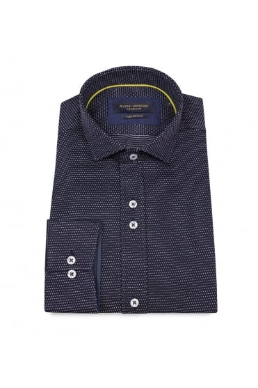 Navy Dot Jersey Shirt 74450
