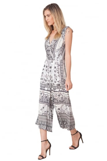 Hale Bob Women's H7ZCW8478 Grey Jumpsuit