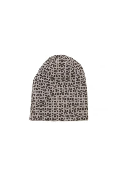 Hemisphere Women's 1621CAP1HP-4 H Pattern Beanie Brown Hat