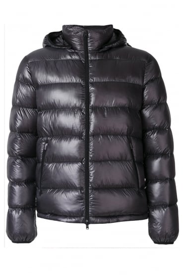 Grey Padded Down Jacket PI0311U