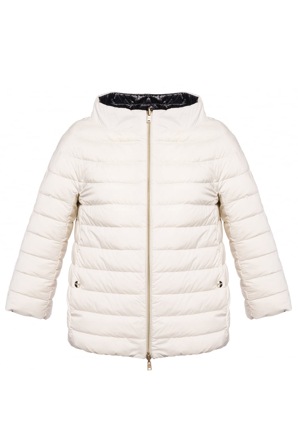 728a82982 HERNO Herno Women's P10793D Woven Black/White Jacket - WOMAN from ...