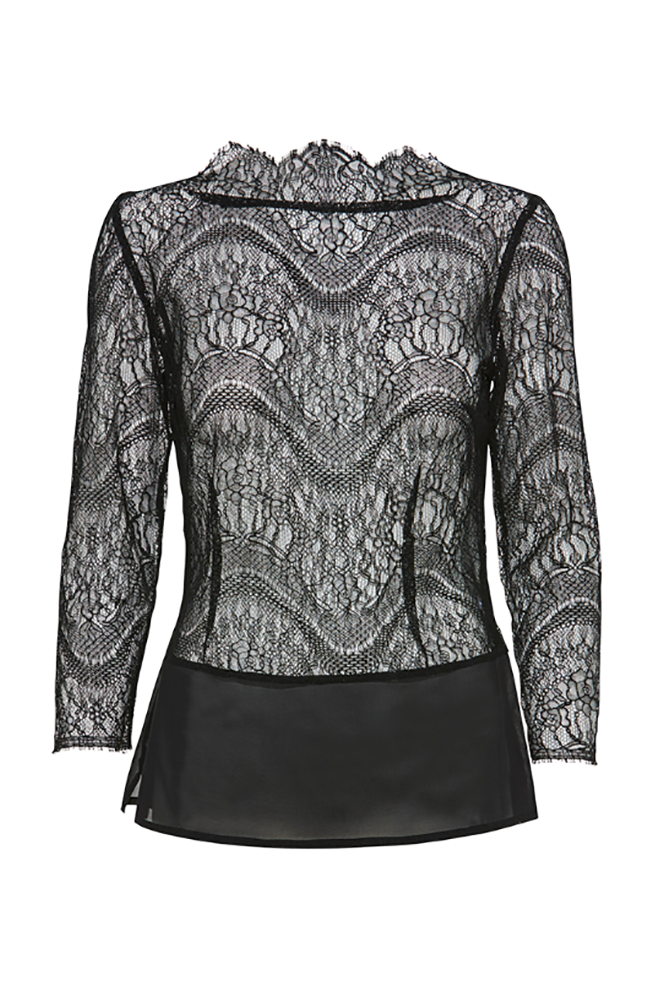 JULIE FAGERHOLT Julia Fagerholt Women's Jupa Black Top