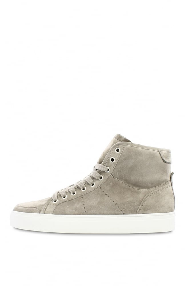 KENNEL & SCHMENGER Men's 68-97430 Suede Grey High Tops