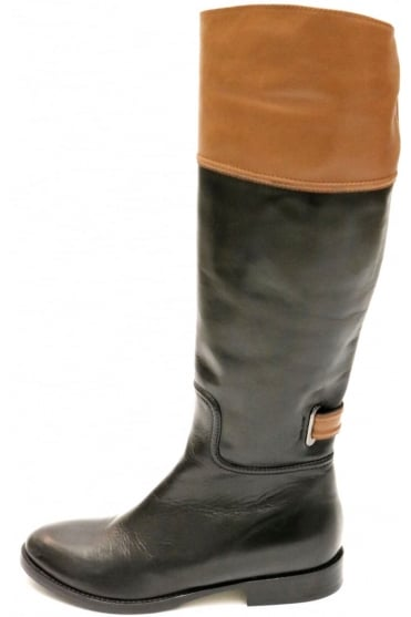 Le Pepe Women's 666641 Black/Brown Boot