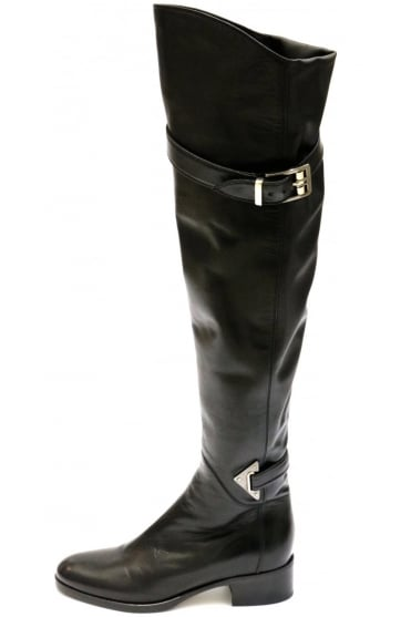 Le Pepe Women's A568467 Knee High Black Boot