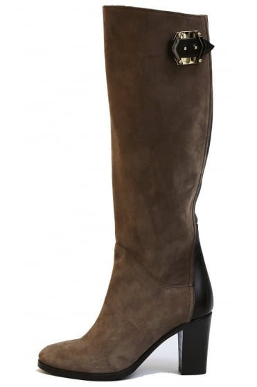 Le Pepe Women's A585750 Long Brown Boots