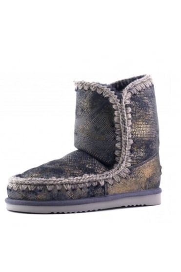 Mou Women's Eskimo 24 Limited Edition Gold Boot