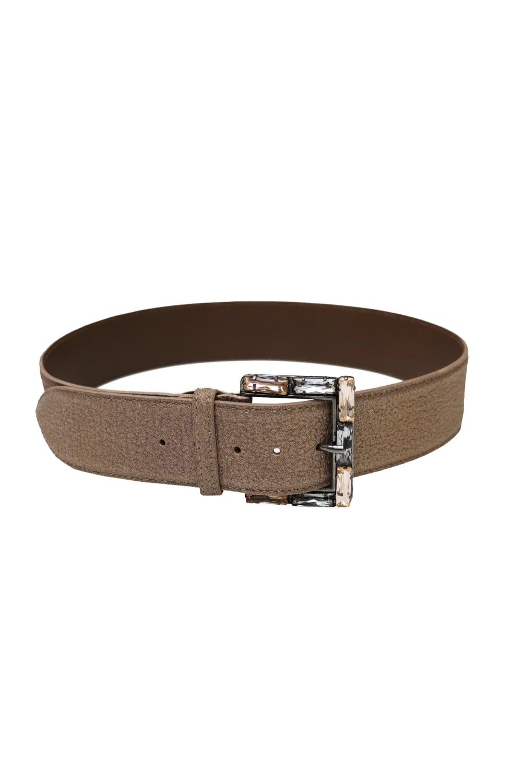440541400 Nanni Women's 359 Embellished Buckle Gold Belt. NANNI Women's ...