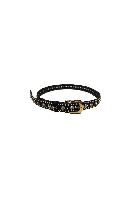 6572d715e Nanni Women's 418 Embellished Gold/Black Belt · NANNI Women's ...