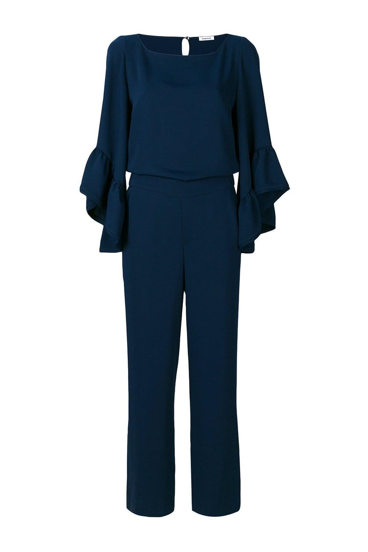 58739f8bd17 PAROSH Women s PANTERY D790035 Blue Jumpsuit - WOMAN from Piajeh UK