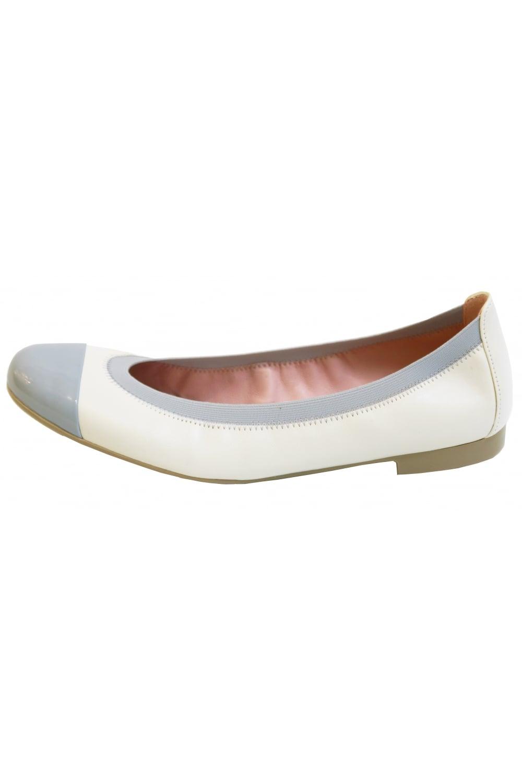 6db3eecf2cc0 Pretty Ballerinas Women  039 s 37190 Shirley Shade Marmol Cream Shoes
