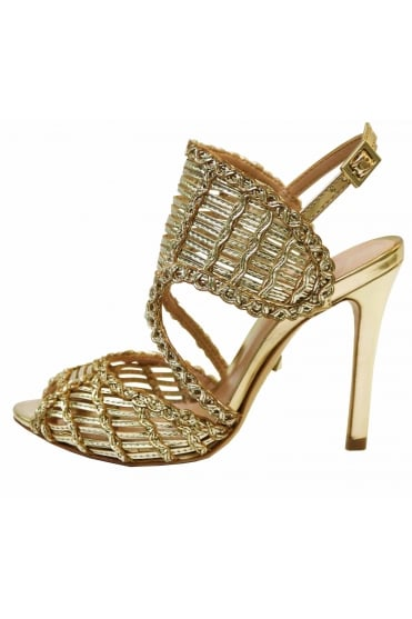 56db2d954bf725 Schutz Women s S013871219 Thamis Gold Sandal