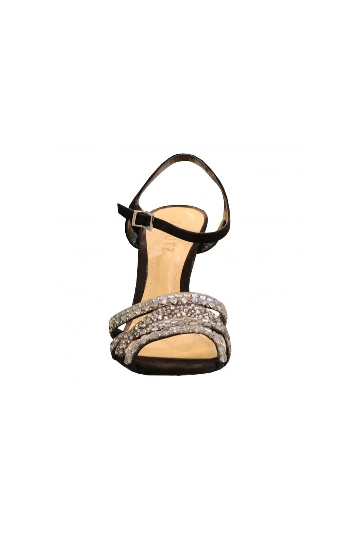 92edf23c7b4eca SCHUTZ Schutz Women s S2-01850014 Open Toe Sparkly Heeled Brown or ...