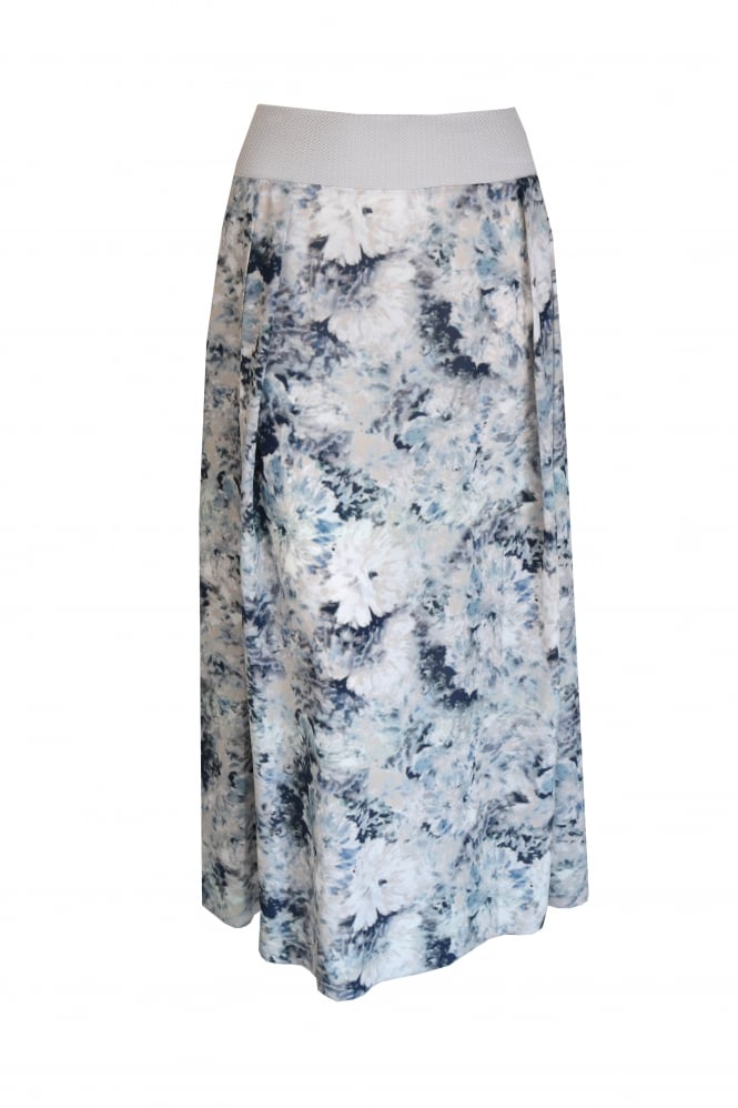 Shes So Maxi Abstract Flower Skirt 3129/W