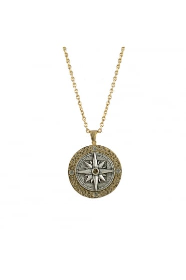 Compass Necklace N401