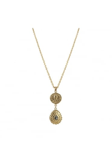 Orai Vintage Coin Necklace N535